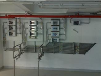Paslanmaz tesisat, Paslanmaz boru tesisatı, ilaç fabrikası gaz tesisatı, oksijen tesisatı, azot tesisatı, hidrojen tesisatı